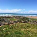Coastal walk - Bude beach
