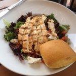 Chicken breast salad - delicious