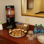Coffee is Complimentary when you book a meeeting room with us!