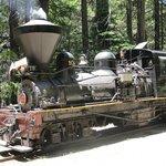 Shay #10 Steam Engine