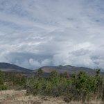 burnt mesa view before storm
