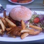 Fabulous veggie burger!