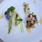 Foie Gras, Refreshing with small flower