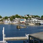 Boothbay Harbor looking across to downtown