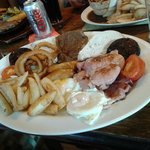Mixed grill at The Nevison Country Inn