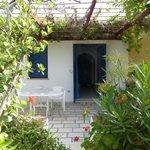 le bungalow et la terrasse