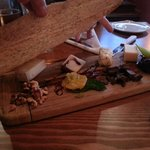 Cheese board appetiser for two
