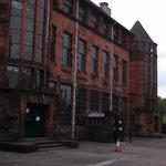 School front facade
