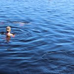 Swimming in the Rio Negro