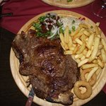 Palmar steak and chips