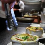 our signature french onion soup