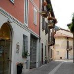 Hotel dei Tigli, view of entrance on Via Paletta