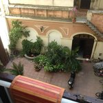 View of Charming Courtyard from Room