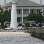 Lighthouse as seen from the Pier