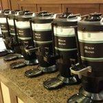 vários tipos de café
