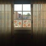 Deluxe bedroom window