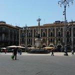 La fontana dell'elefante, il simbolo di Catania