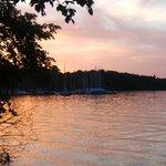 Abendstimmung in Bernried am Starnberger See