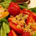 Salade fraise & pamplemousse