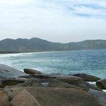 Lopes Mendes vista da praia de Santo Antonio