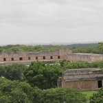 Uxmal-view from the top of the governor's palace