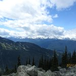 View from Whistler Mountains.