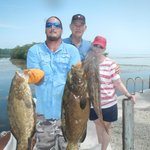 Groupers with Capt. Dayne