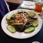 Seasonal chicken salad