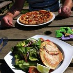 Tasty lunch in the sun!!! :-)