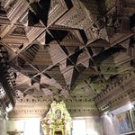 Amazing ceiling in one of the chapels