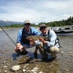 Snake River Cuthroat with Taylor of Fish the Fly