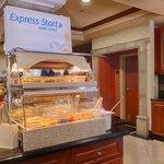 Express Start Hot Breakfast Meat & Eggs