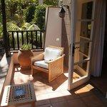 La terrasse chambre vue