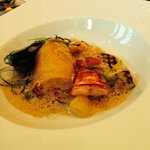 Lobster Cannelloni - amazing