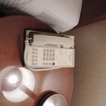 """Very old cord telephone. supposed """"luxury"""""""