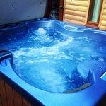 Lush hot tub