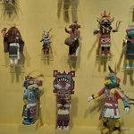 One section of a Hopi Kachina collection