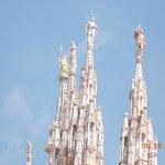 Top of spires