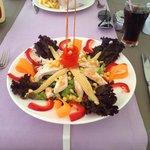 Lovely chicken salad :)