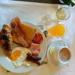 un exemple de petit dejeuner