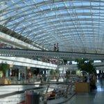 Shops area.
