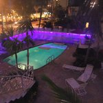 Alcazar Pool at night