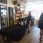 Flying Monkey reception and bar