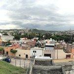 La ciudad con vista al acueducto
