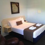 Lovely Queen Beds all Rooms.