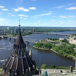 View from peace tower