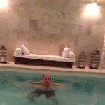 piscina aquecida e relaxante...
