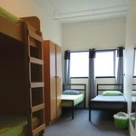 4 bed Dorms consist of 2 single beds and large bunk.