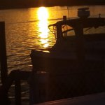Sunset over Ogan