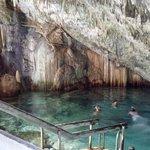 Grotto Beach Resort's cave